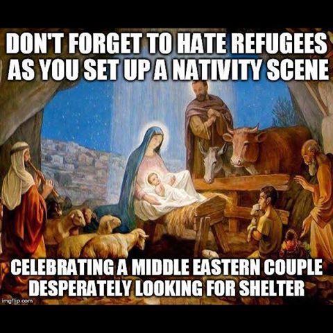 Xmas refugees